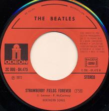fr250 Penny Lane / Strawberry Fields Forever   J 2C 006-04475 - pic 1