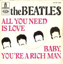 fr260 All You Need Is Love / Baby, You're A Rich Man  J FO 103 - pic 1