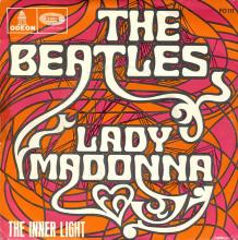 fr280  Lady Madonna / The Inner Light  J FO 111 - pic 1