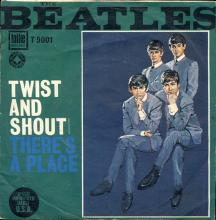 ITALY 1903 TWIST AND SHOUT ⁄ THERE'S A PLACE - TOLLIE RECORDS - T-9001 - pic 1