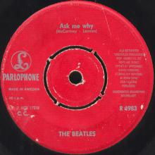 sw010  PLEASE, PLEASE ME / ASK ME WHY - R 4983 - pic 1