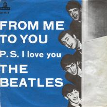 sw031  From Me To You / P.S. I Love You  (SD 5944) - pic 1