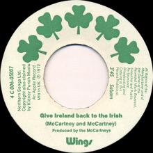 be03 Give Ireland Back To The Irish (Version) 4C 006-05007 - pic 1