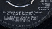 P.J. PROBY - THAT MEANS A LOT - UK - LEP 2251 - EP - pic 1
