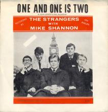 THE STRANGERS WITH MIKE SHANNON - ONE AND ONE IS TWO - BIC 101 - SWEDEN - REISSUE 1976  - pic 1
