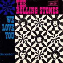 THE ROLLING STONES - WE LOVE YOU - HOLLAND - DECCA - AT 15 080 - pic 1