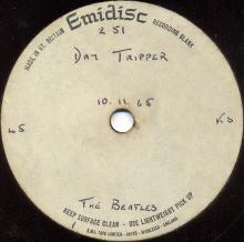 The Beatles Acetate Day Tripper - pic 1