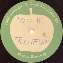 The Beatles Acetate Dig It FAKE - pic 1