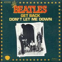 THE BEATLES DISCOGRAPHY FRANCE - OLDIES BUT GOLDIES - 010 L2-P2 - GETBACK / DON'T LET ME DOWN - E 2C 010-04084  - pic 1