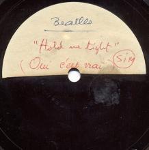 The Beatles Acetate Hold Me Tight / Oui, c'est Vrai - pic 1