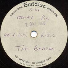 The Beatles Acetate Honey Pie - pic 1