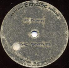The Beatles Acetate Help (A-Side) / I'm Down (B-Side) - pic 1