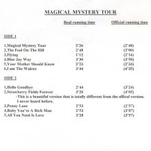 The Beatles Acetate Magical Mystery Tour FAKE - pic 1