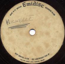 The Beatles Acetate Michelle - pic 1