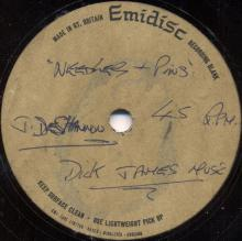 The Beatles Acetate Missery (A-Side) / Needles And Pins - The Searchers (B-Side) - pic 1