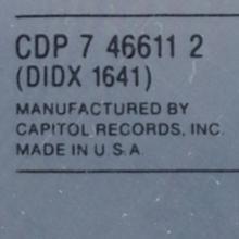 1970 04 17 McCARTNEY - CDP 7 46611 2 ⁄ USA 1987 04 27  - pic 1