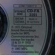 1971 12 05 WILD LIFE / CD-FA 3101 /CDM 7 52017 2 / 77775 20172 / GERMANY 1987 10 05 - pic 1