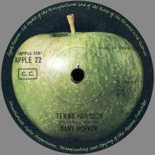 gr10-Mary Hopkin - Temma Harbour / Lontano Dagli Occhi - Apple 22 - pic 1