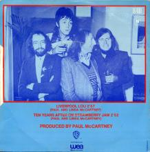 0010fr Liverpool Lou - Ten Years After On Strawberry Jam / Mike McGear - Scaffold / WB 16.400 - pic 1