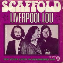 0010hol Liverpool Lou - Ten Years After On Strawberry Jam / Mike McGear- Scaffold / WB 16400  - pic 1