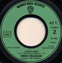 0020fr Leave It - Sweet Baby / Mike McGear / WB 16446 - pic 1