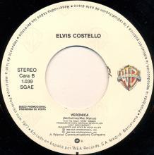 1989sp Elvis Costello - Veronica -promo- 1.039 - pic 1