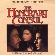 1983uk John Williams - Paul McCartney's Theme From The Honorary Consul -promo- IS 155 DJ  - pic 1