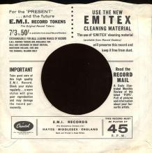 1969uk The Steve Miller Band - My Dark Hour -promo- CL 15604 - pic 1