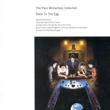 The Paul McCartney Collection 10 Back To The Egg  0777 7 89136 2 7 hol - pic 1
