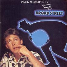 The Paul McCartney Collection 14 Give My Regards To Broad Street 0777 7 89268 2 5 hol - pic 1