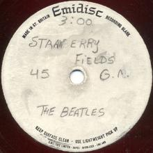 The Beatles Acetate Strawberry Fields - pic 1