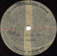 The Beatles Acetate Can't Buy Me Love - pic 1
