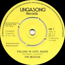 uk NB 1 Lingasong Twist And Shout ⁄ Falling In Love Again  - pic 1