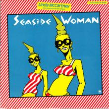 1980 07 18 LINDA McCARTNEY ALIAS SUZY AND THE RED STRIPES - SEASIDE WOMAN ⁄ B-SIDE TO SEASIDE - AMSP 7548 - 12 INCH - UK - pic 1