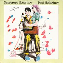 1980 09 15 PAUL McCARTNEY TEMPORARY SECRETARY ⁄ SECRET FRIEND - 12 R6039 - 12 INCH - UK - pic 1
